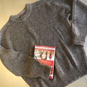 🌟Vintage mens sweater -100% Wool Shetland RARE -M